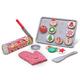 Melissa & Doug Wooden Slice & Bake Christmas Cookie Play Se, One Size