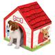 Melissa & Doug Cardboard Dog House, One Size