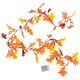 Lighted Leaf Garland, One Size