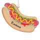 Personalized Hotdog Ornament, One Size