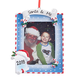 Personalized Santa & Me Frame Ornament, One Size