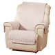 Personalized Microfiber Recliner Cover w Initial by OakRidge, One Size