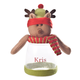 Personalized Reindeer Treat Jar Personalization