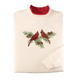 Cardinals on Pine Branch Sweatshirt by Sawyer Creek