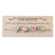 Chirps Friendship Plaque with Clips, One Size