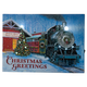 Christmas Greetings Train Lighted Canvas by Northwoodsâ?¢