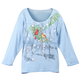 Cardinal Snowfall 3/4 Sleeve Top, One Size