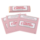 Personalized Candy Bar Wrappers Merry Christmas Set of 24, One Size