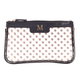 Personalized Polka Dot Clear Cosmetic Bag, One Size
