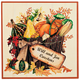 Personalized 12x12 Autumn Metal Door Plaque