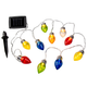 Solar Christmas Bulbs, Set of 10, One Size
