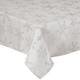 Shimmering Snowflake Metallic Table Cloth, One Size