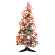 3' Snow Frosted Candy Cane Pull-Up Tree by Northwoods™, One Size