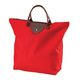 Red Foldable Tote, One Size