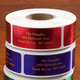 Jewel Tone Labels Gold Font Roll Of 500