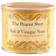 The Peanut Shop Salt & Vinegar Peanuts, 10.5 oz., One Size