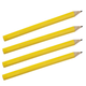 Giant Pencils, Set of 4, One Size