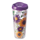 Tritan™ 22 oz. Insulated Tumbler Floral, One Size