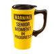 Travel Mug Make Senior Moment in Progress, One Size