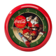 Coca-Cola Christmas Carol Clock, One Size