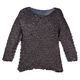3/4 Sleeve Magic Shirt with Sequins, One Size