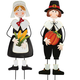Metal Pilgrim Boy and Girl Stakes by Maple Lane Creations™, One Size