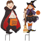 Metal Trick-or-Treat Girl and Boy by Fox River Creations™, One Size