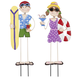 Metal Summer Boy and Girl by Maple Lane Creations™, One Size