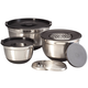 Stainless Steel Bowl, Grater & Lid 9 Piece Prep Set, One Size