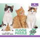 Children's Kitten 30-Piece Floor Puzzle, One Size