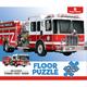 Children's Firetruck 23-Piece Floor Puzzle, One Size