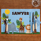 Personalized Zoo Animals Placemat