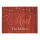 Personalized Barnwood Noel Doormat, One Size