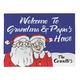 Personalized Grandma & Papa's Santa Claus Doormat, One Size