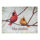 Personalized Snowbirds Doormat, One Size