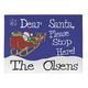 Personalized Dear Santa Doormat, One Size