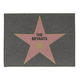Personalized Hollywood Star Doormat, One Size