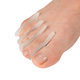 Silver Steps™ Gel Toe Separators Set/8, One Size