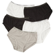 Banded Leg Classic Cut Briefs, 5 Pack, One Size