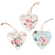 Hanging Heart Plaques, Set of 3, One Size