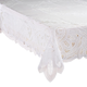 Battenburg Vinyl Lace Table Cover, One Size