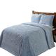 Rio Chenille Bedspread - Blue, One Size