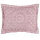 Rio Chenille Sham - Rose, One Size