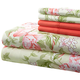 Hotel 5th Ave 90gsm Microfiber Sheet Set - Rose Floral, One Size