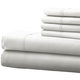 Hotel 5th Ave 4pc Microfiber Sheet Set - White, One Size