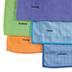 5-Piece Microfiber Cloth Cleaning Set, One Size