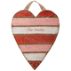 Personalized Wooden Heart Plaque, One Size