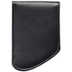 Leather RFID Front Pocket Wallet, One Size, Black