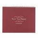 3 Year Calendar Diary 2018-2020 Burgundy, One Size