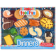 Melissa & Doug Food Fun Combine & Dine Dinners - Blue, One Size